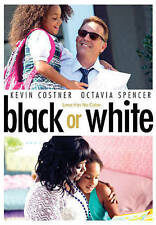 Black or White (DVD, 2015, Brand New)FREE SHIPPING