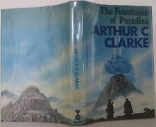 ARTHUR C. CLARKE The Fountains of Paradise  FIRST UK EDITION