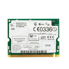 Mini 2200BG 802.11B/G Intel Pro/Wireless PCI WIFI Network Card for Toshiba Dell