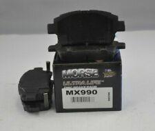 Morse Disc Brake Pad Set MX990 For Scion Toyota Echo iQ MR2 Spyder Prius xA xB