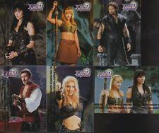 1998 XENA WARRIOR PRINCESS SERIES 2 CHROME CHASE CARD SET XC1-XC6