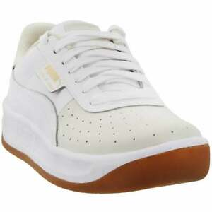 Puma California Exotic Perforated Lace Up  Womens  Sneakers Shoes Casual   -