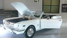 1:24 Scala FORD MUSTANG 1964 CONVERTIBILE CABRIO pressofuso modello auto 73212