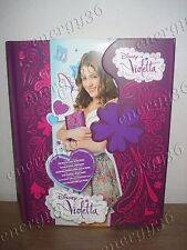 Disney Personal Diary Violetta with magnetic closure for secret thoughts girls