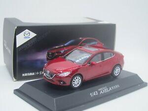 Mazda 3 Axela 4-door Sedan 2019 1/43 Dealer Box