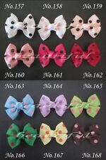 "100 BLESSING Good Girl Custom Boutique 3.5/"" Mermaid Hair Bow Clip #420 Wholesale"