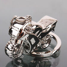 Motorcycle Key Ring Chain Motor Silver Keychain New Fashion Cute Gifts NEW