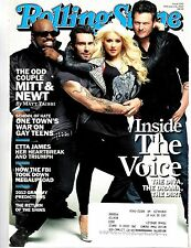 The Voice~Rolling Stone Magazine~Issue 1150~Feb 16, 2012~Adam Levine~Blake