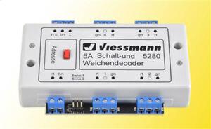 Viessmann 5280 Multiprotocole Déplacement- Et Décodeur D'Aiguille