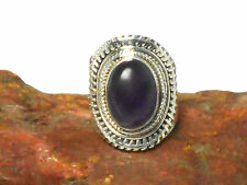 AMETHYST   Sterling  Silver  925  Gemstone  RING -   Size: L  -  Gift  Boxed!