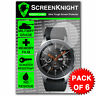 ScreenKnight Samsung Galaxy Watch 46mm SCREEN PROTECTOR Military Shield - 6 PACK
