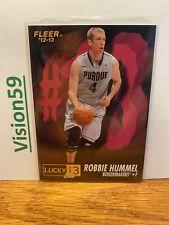 2012-13 Fleer Retro Lucky 13 (1996-97) - ROBBIE HUMMEL