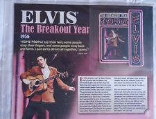 Elvis Presley Bradford Exchange Collectible Patches Collection The Breakout Card