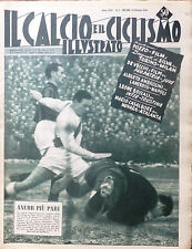 IL CALCIO ILLUSTRATO N 3 1956 TORINO MILAN BUFFON PILLIS LIEDHOLM NAPOLI INTER