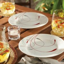 Dinnerware Set Serving Dishes Modern Kitchen Eating Plate Set 16-Pieces