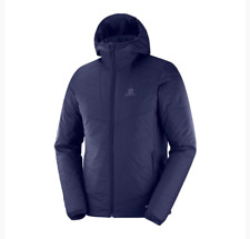 Salomon Drifter Mid Hoodie Night Sky With Tags Size 2xl