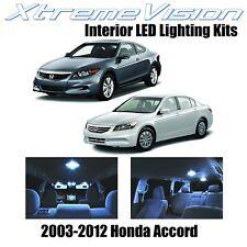 XtremeVision Honda Accord 2003-2012 (12 Pieces) Cool White Premium Interior...