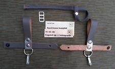 NVA Grenze Trageriemen Tragehilfe und Faustriemen vom Bajonett AK 47/74 Leder