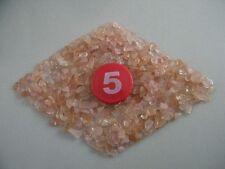 300+Mini Natural Ice Pink Rose Quartz Crystal Rocks Stone Specimen Chips Healing
