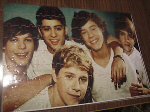 PERSONALISED CUSTOM 120PC PHOTO JIGSAW ONE DIRECTION HARRY STYLES OR PICK OWN DE