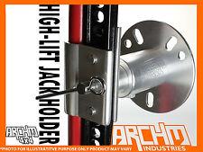 ARCHM4X4 HIGH LIFT JACK OR SHOVEL ALLOY SPARE WHEEL MOUNT / BRACKET / HOLDER