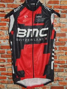Bike Cycling Jersey Shirt Cyclism Sleeveless BMC Pearl Izumi Wintry Size M