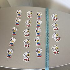 VINTAGE 80s# 19x lot Snoopy  Character   patch iron sew  patches Toppe