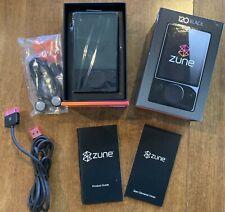 Microsoft Zune 120 Black (120 GB) Digital Media Player BUNDLE