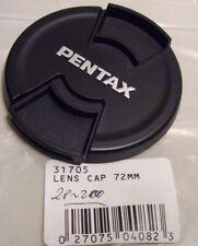 Pentax (Genuine)  31705 Front Lens Cap 72mm . NEW !