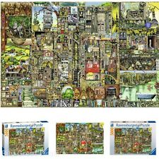 Ravensburger Colin Thompson Kids Puzzle Game, 5000 Pcs BizarreTown Jigsaw Puzzle