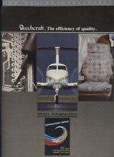 (192) Documentazione photos aviazione Aircraft Beechcraft Il Bourget 1983