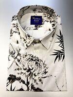 New Women/'s Size 14 Cotton Star Printed Cropped Boxy Shirt by Saffron Finch