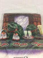 Vintage Budweiser Busch T Shirt Frank&Louies Lounge Copyrite 1998 Size XXL