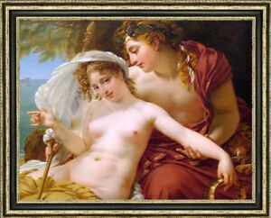 """Old Master-Art Antique Oil Painting art  nude girl on canvas 30""""X40"""""""