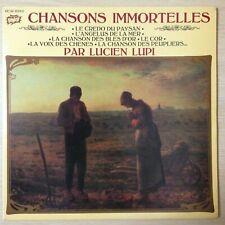 """LUCIEN LUPI - """" CHANSONS IMMORTELLES """" - EX/EX - DOUBLE LP 33 TOURS N° 15372/3"""
