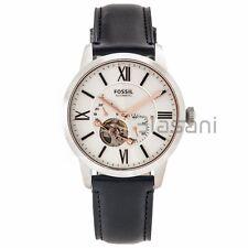 Fossil Original ME3104 Men's Townsman Automatic Black Leather Watch 44mm