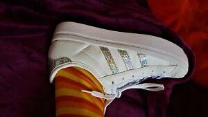 weiße Adidas Superstar gr39,5