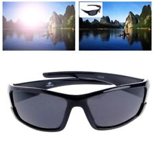 Mens Polarized Sunglasses  Bright Black Driving Cycling Sports Outdoor Eyewear