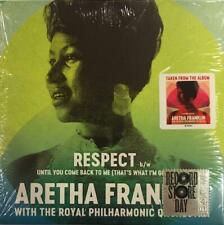 """ARETHA FRANKLIN & ROYAL PHILHARMONIC ORCH Respect / Until You. NEW 7"""" VINYL SOUL"""