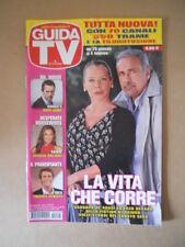 GUIDA TV n°5  2012 [G764] BARBARA DE ROSSI ENZO DECARO