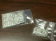 1/6 scale stacks & loose money. Lot of 90 $10 bills GI Joe 12 inch figures