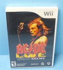 AC/DC Live: Rock Band Track Pack (Nintendo Wii, 2008) BRAND NEW FACTORY SEALED