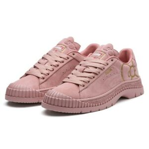 Puma x Hello Kitty Utility (Women Size 5.5) Athletic Sneaker Pink Shoe Suede