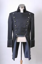 Musical Les Miserables Norm Lewis Javert Jacket Trench Cosplay Costume Tailored