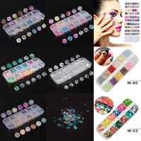 3000 3D NAIL ART RHINESTONES DECORATION GLITTER ACRYLIC GEMS AB DIAMANTE CRYSTAL