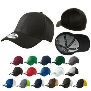 NEW ERA Classic 39THIRTY Flex Stretch Fitted TRUCKER Cap Hat New!