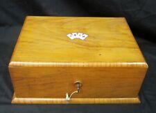 Vintage French Wooden Gambling Box