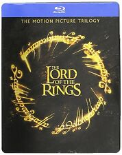 The Lord of the Rings Trilogy - Blu Ray Steelbook -