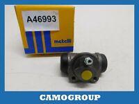 Cylinder Rear Brake Rear Wheel Brake Cylinder Metelli RENAULT Megane II