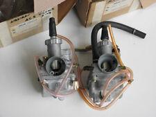 Pair NOS Genuine OEM Yamaha Twin 125 AS3 YAS3 Carburetor Carb Assy Set LH + RH